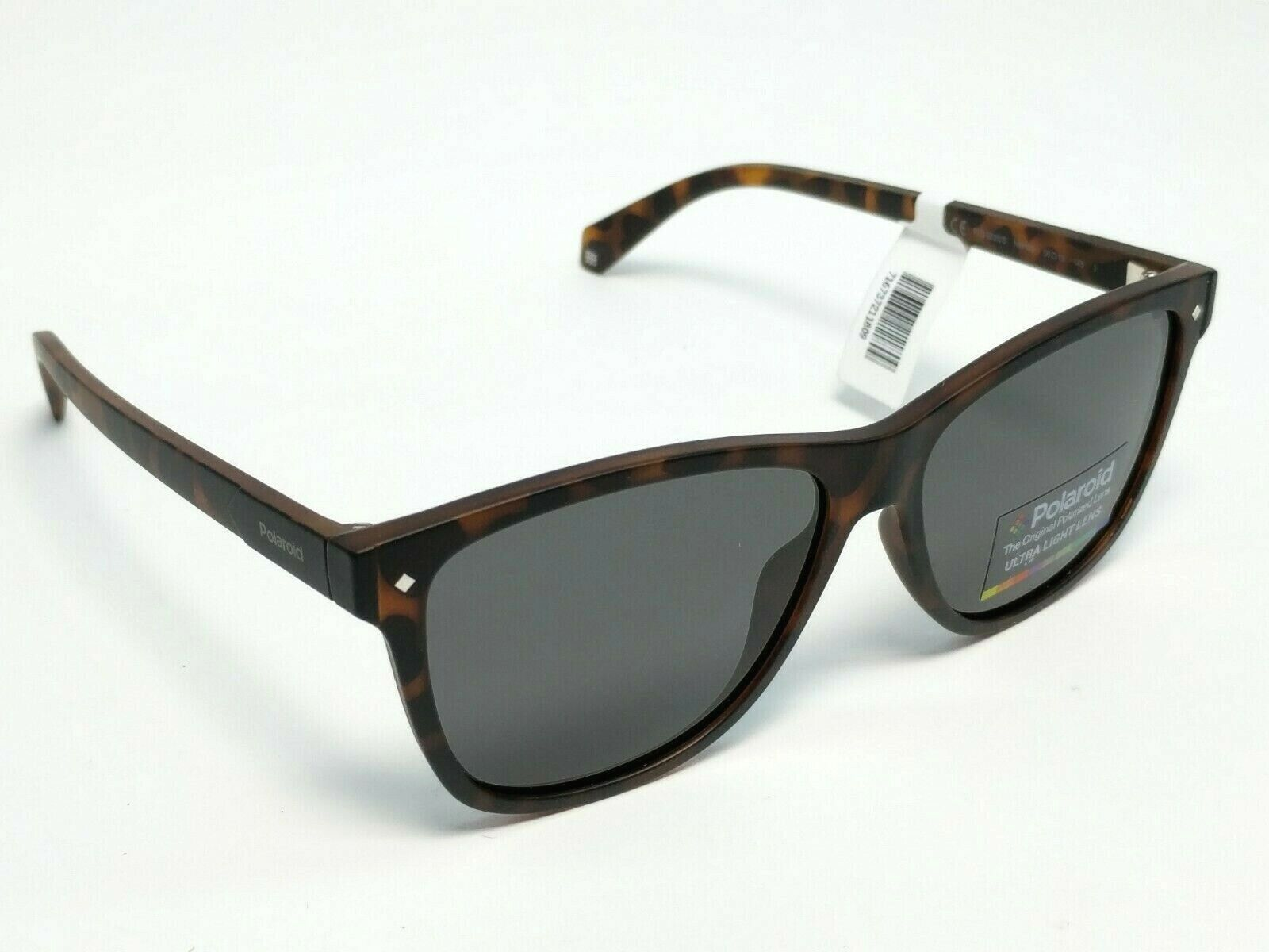 Polaroid Sunglasses PLD6035S Havana Brown/Gray Polarized Rec