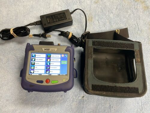 VeEX CX310 Handheld DOCSIS 3.0 and 3.1 Installation Test Set with Case & Charger