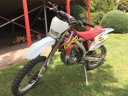 Honda CRF450X 2009