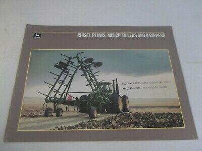 John Deere 610 1650 Chisel Plows 712 710 Mulch Tillers 900 910 V-ripper Brochure