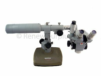 Ao American Optical Spencer Microscope With 10x Wf Boom Stand