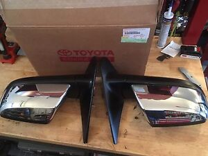 2011 Toyota Tundra heated mirrors