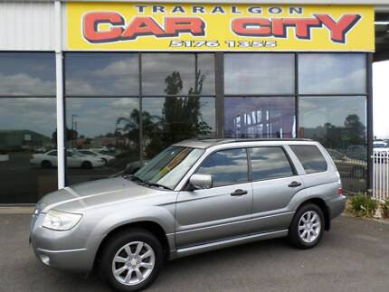 2006 Subaru Forester XS Luxury Wagon Traralgon East Latrobe Valley Preview