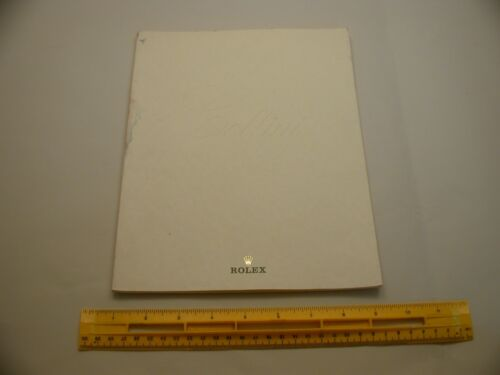 Book 694 – Rolex Cellini wrist watch catalog