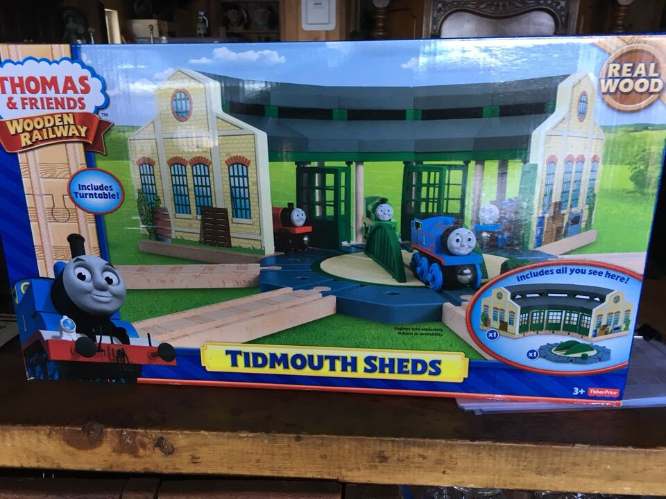 Thomas Tidmouth Sheds deluxe set by Fisher Price for sale | Toys ...