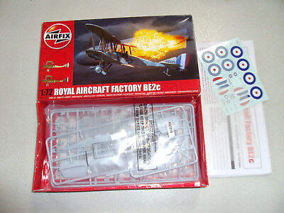 AIRFIX ROYAL AIRCRAFT FACTORY BE2C IN 1/72 SCALE