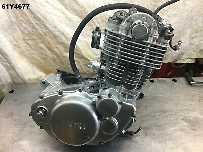 YAMAHA SR 400  ALL YEAR ENGINE MOTOR DONE 18,260 K/M'S PER PHOTO  LOT61  61Y4677