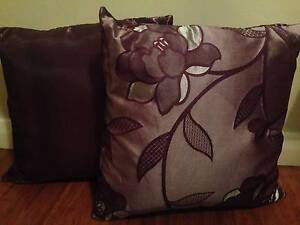 4 purple/lilac cushions, 42cm x 42cm Grange Charles Sturt Area Preview