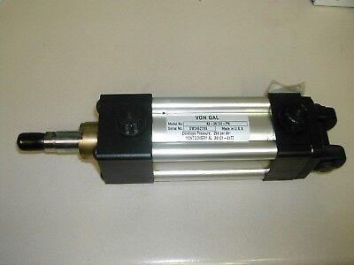 4 Inch Stroke Von Gal Palletizer A3-05102-pn 250psi Pneumatic Cylinder New T11-6