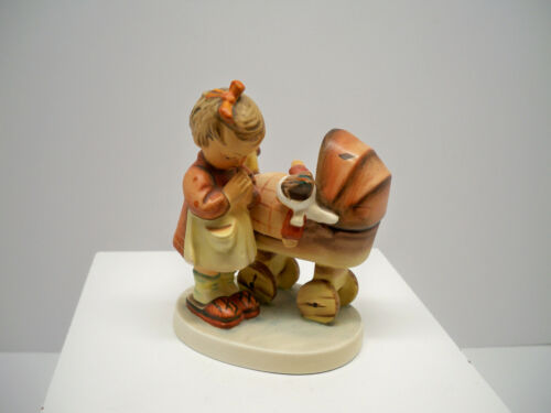 "Vintage M.I. Hummel Goebel Figurine ""Doll Mother"" # 67 W Germany TMK-3"