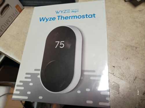 NEW Wyze Smart Programmable Thermostat works with Google Alexa  SEALED