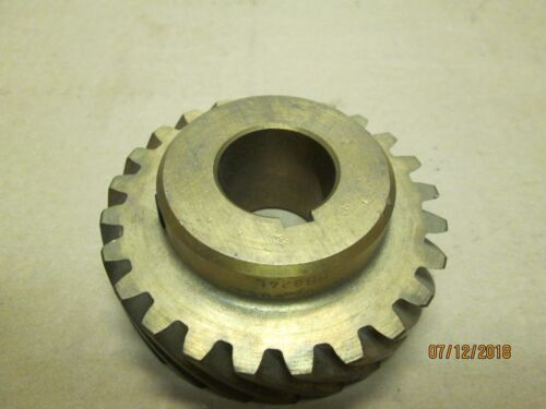 "NEW OTHER, BOSTON HB824L BRONZE HELICAL GEAR, 8 DP, 24TEETH, 1""BORE, L.H."