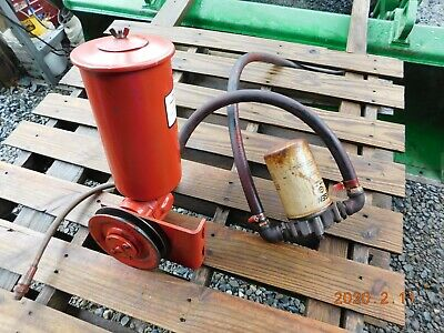 Used Cessna Industrial Pulley Driven Driven Hydraulic Pump Wreservoir