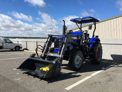 Brand New 55HP TRIDENT Tractor with FEL & 5FT SLASHER Lonsdale Morphett Vale Area Preview