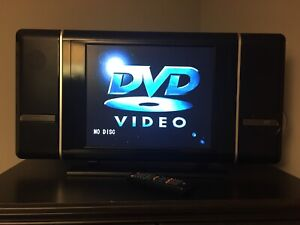 "19"" TV with built in DVD Player"