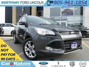 2016 Ford Escape Titanium | NAV | REAR CAM | LEATHER | PANO ROOF