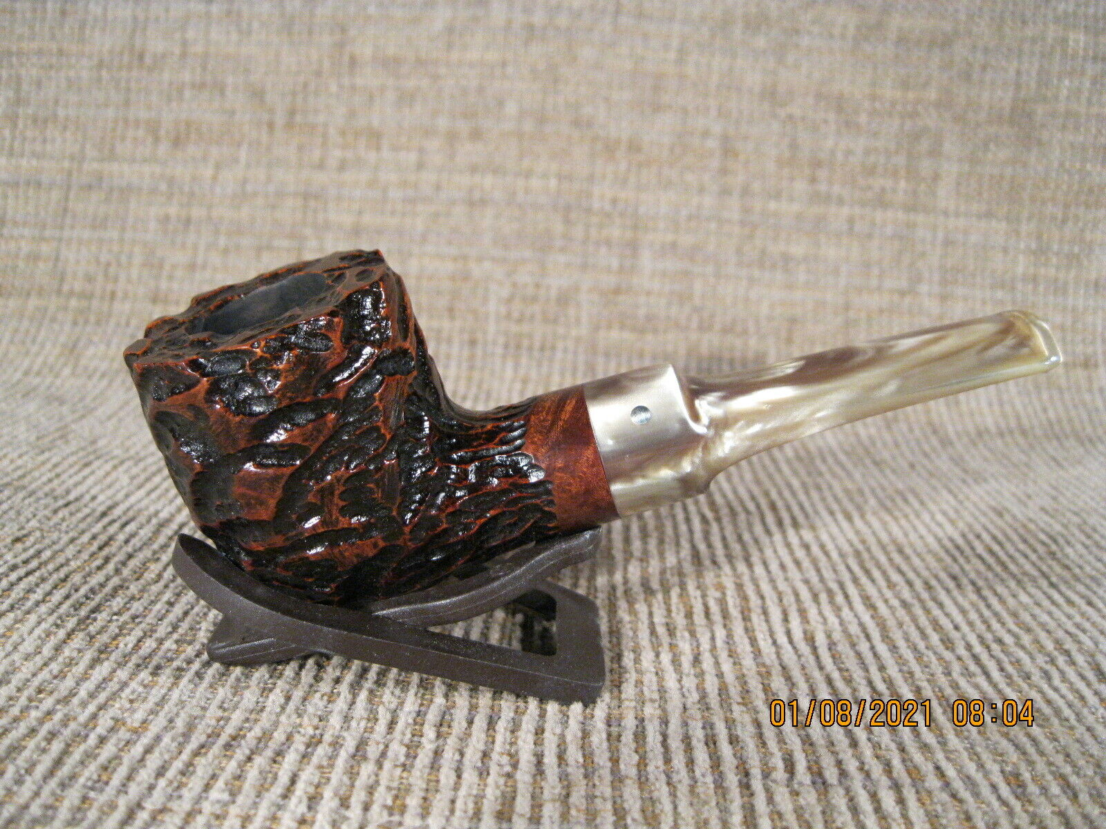 Briar Pipe By Jake Hackert 2865 - $165.00