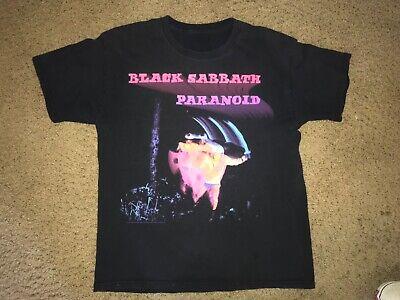 Vintage Black Sabbath Paranoid Shirt mens medium
