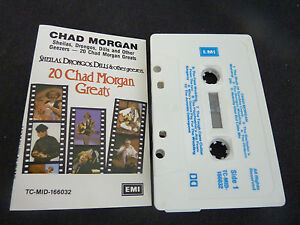 CHAD-MORGAN-20-GREATS-RARE-AUTOGRAPHED-AUSSIE-CASSETTE-TAPE