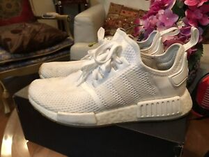 Selling White NMDs R1 - size 8.5