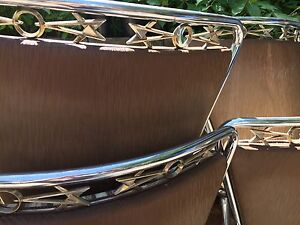 1950's Chrome Kitchen Table And Chairs