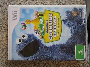 Sesame Street - Cookie's Counting Carnival Wii Game **BRAND NEW** Campbell North Canberra Preview