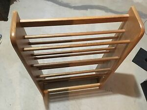 Adjustable Wooden CD/DVD Rack