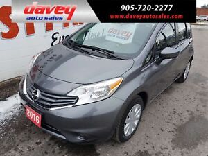 2016 Nissan Versa Note 1.6 SV BACK UP CAMERA, BLUETOOTH, CD P...