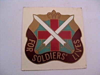 NOS UN USED VINTAGE U.S. MILITARY FOR SOLDIERS' LIVES DECAL STICKER