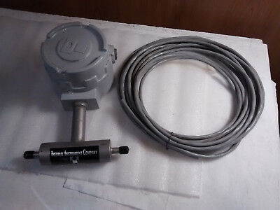 Thermal Instrument Co. 600-9 Inline Thermal Mass Flow Meter 0-1200 Psig