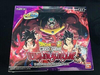 Bandai DragonBall Super Card Game Unison Warrior Booster Box