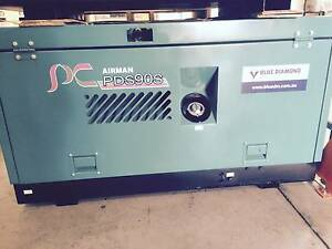 Airman Air Compressor 90 CFM - Diesel Screw - **Practically New** Greenslopes Brisbane South West Preview