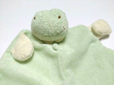 Angel Dear Frog Security Blanket Plush Baby Green