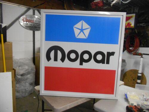 Mopar Lighted Sign