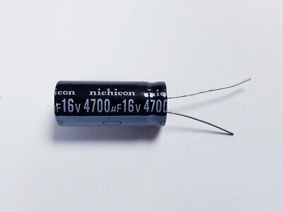 2 Pieces 4700uf 4700uf 16v Electrolytic Capacitor 105 Degrees Usa Free Ship