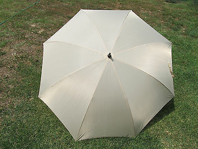 Champagne ivory Wedding Umbrella 60 inch size covers 2 adult