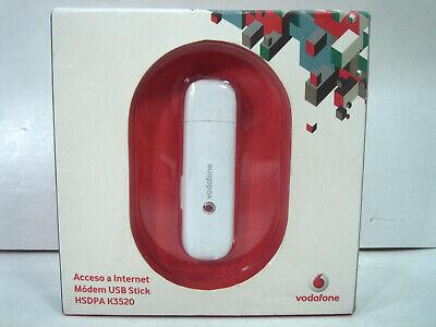 MODEM USB STICK HSDPA K3520- VODAFONE- ACCESO INTERNET -SIN SIM Modem-usb-stick