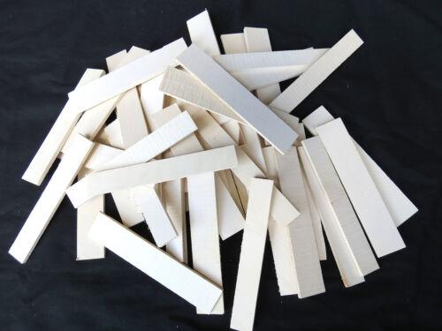 Premium American Holly cutoffs / thins lumber (50 pcs) - KD