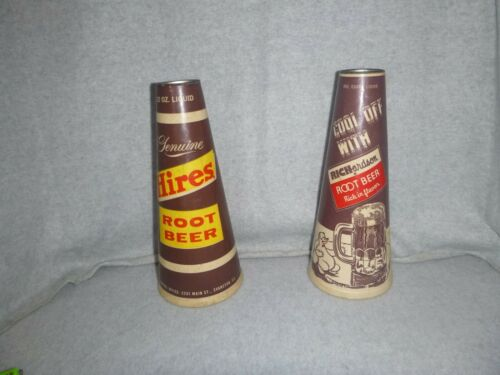 Vintage Richardson and Hires Root Beer Syrup Soda Cone