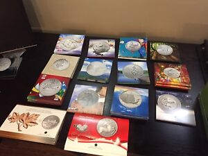 Canada Mint Coins - 20$ for 20$ series.  And more