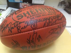 Brisbane Bears signed Football 1995 game Tewantin Noosa Area Preview