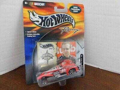 Hot Wheels - 2003 TREASURE HUT HAMMERED COUPE -- NASCAR--KURT BUSH--1:64  (Treasure Hut)