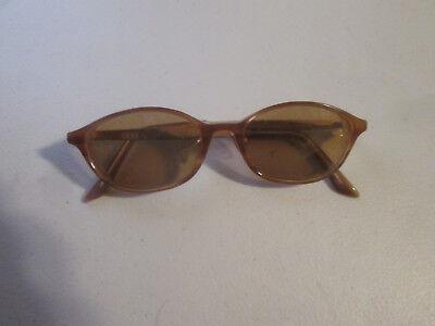 Vintage DKNY Pedley KO1285 Sunglasses Brown Child/ Asian Fit