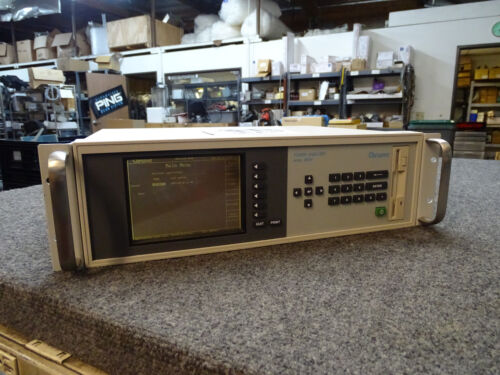 Chroma 6630 Power Analyzer GPIB Calibrated w/ Manual on CD