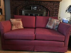 Two matching love seats ($100 for both/OBO)