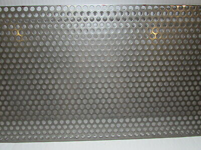38 Hole 16 Gauge 304 Stainless Steel Perforated Sheet 7-34 X 18