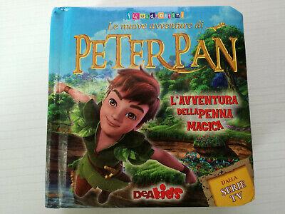 Libricino LE NUOVE AVVENTURE PETER PAN Serie QUADROTTINI DEAKIDS Age: 36mesi+  online kaufen