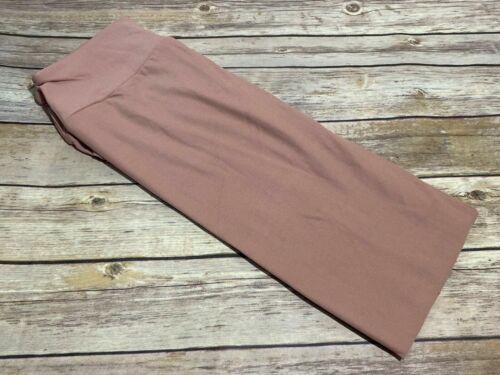 L/XL Lularoe Kids Leggings Solid Pink Mauve Dusty Rose NWT 321997