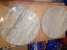 600mm Round granite tops/cheese platters Malvern East Stonnington Area Preview