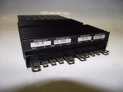 Vicor Flatpac Vi-pf22-cxx 15v 15v Double Output Dc Power Supply